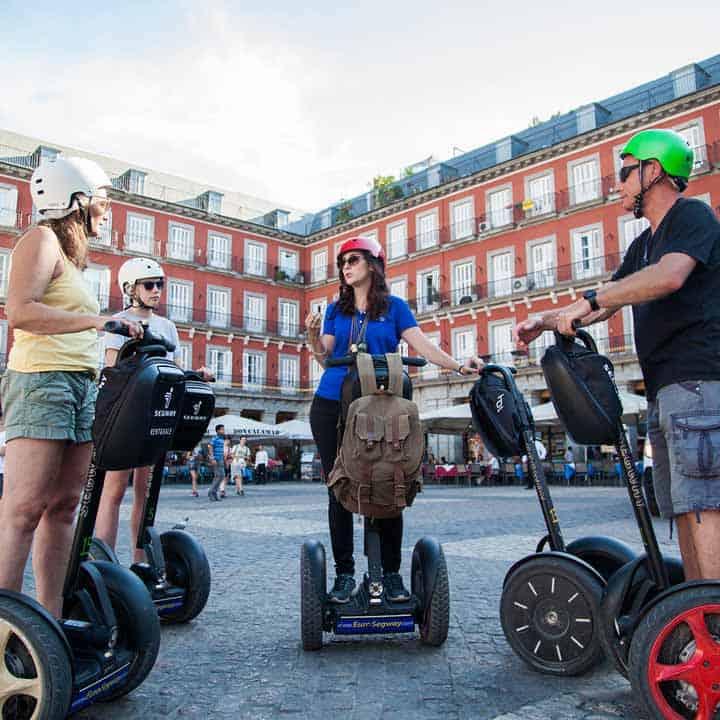 SEGWAY - Las 6 Formas Más Originales de Recorrer Madrid en este Verano 2021