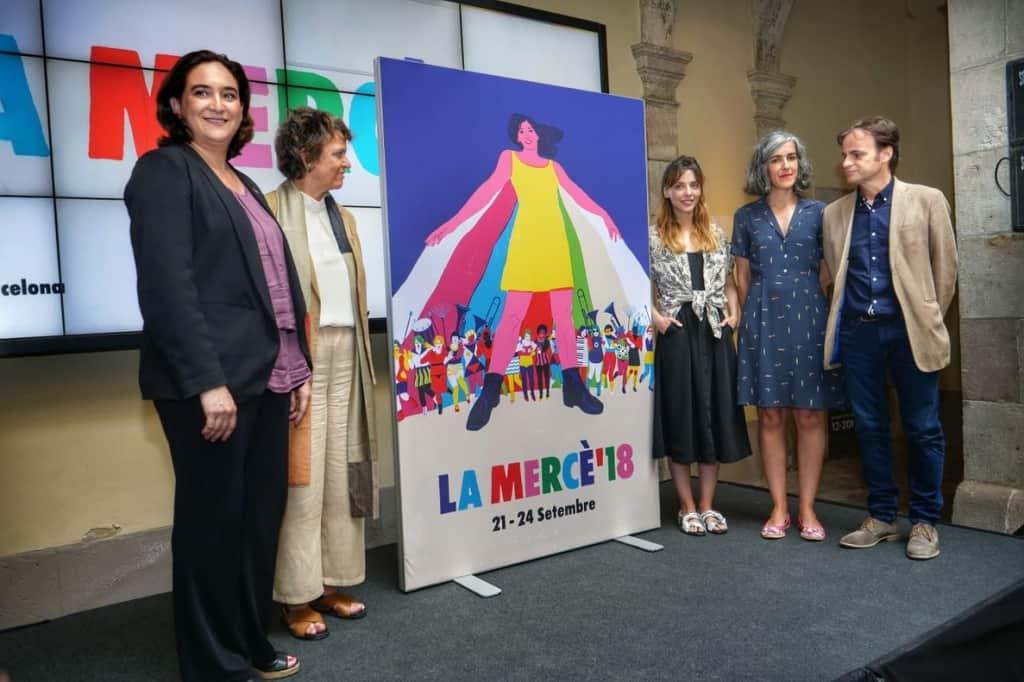Fiestas de la Mercé 2018 en Barcelona - Conciertos y Programación