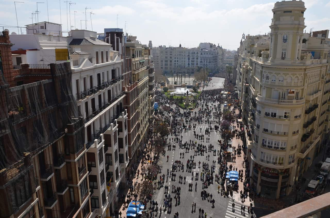 Fiesta del 9 de Octubre en Valencia 2018