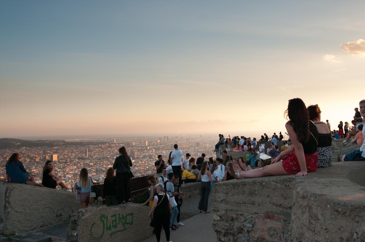 Cinco lugares escondidos en Barcelona - Los Búnkeres del Carmel tienen unas vistas impresionantes