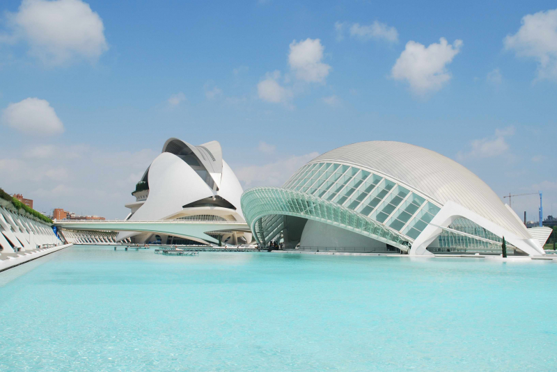 Los 4 mejores museos de Valencia - La Ciudad de las Artes y las Ciencias, el espacio más reconocible de Valencia