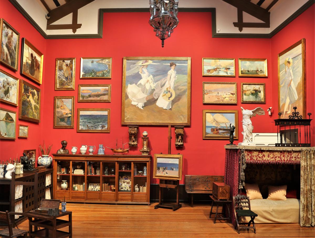 Cuatro museos imperdibles en Madrid - La casa Museo Sorolla presenta obras del pintor en su propia casa