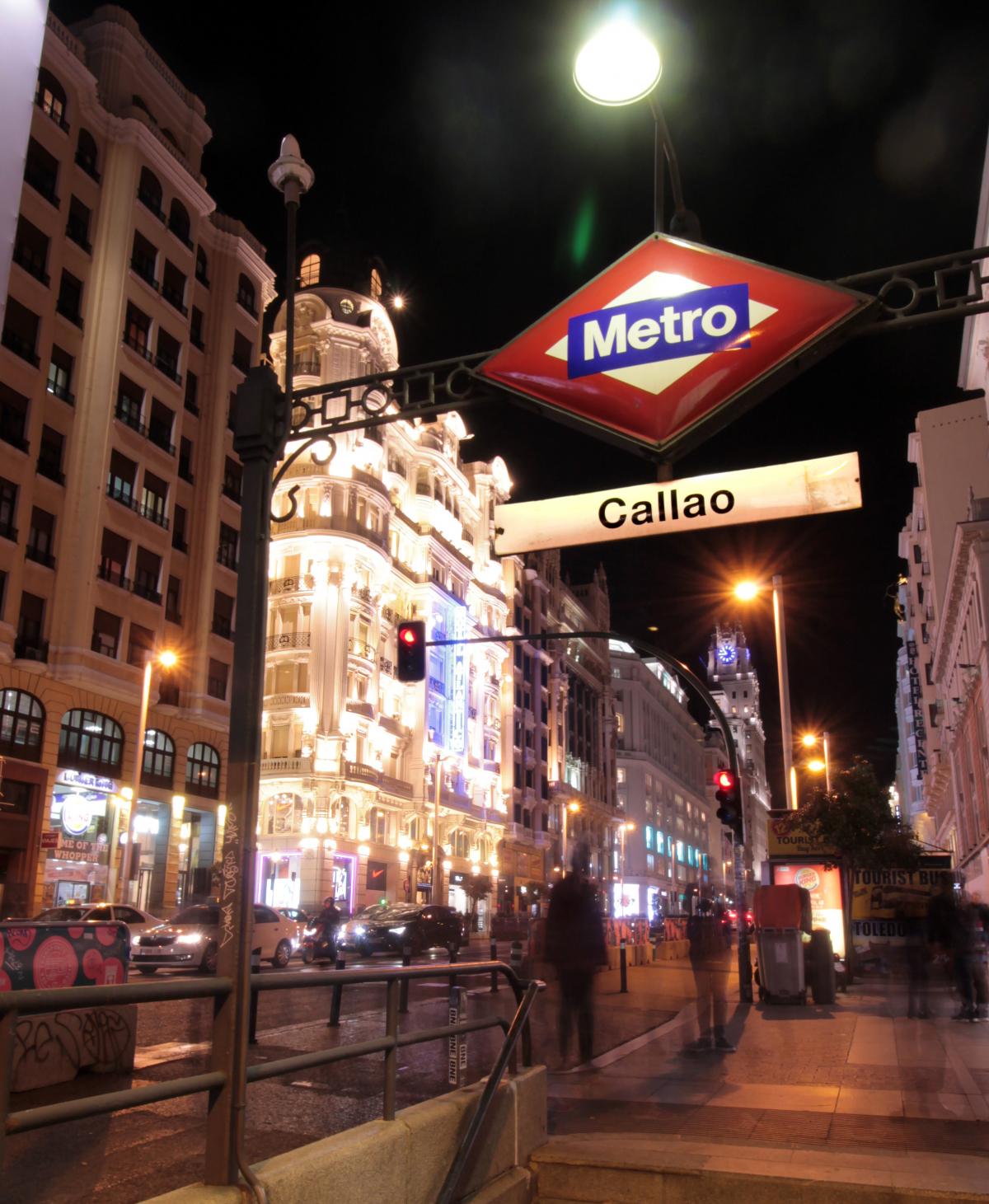 La playlist perfecta para visitar Madrid - Joaquín Sabina y el Metro