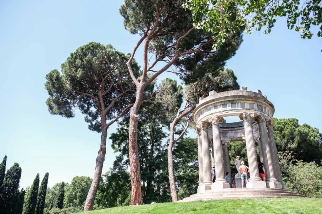El parque de El Capricho - Los 5 parques más románticos de Madrid