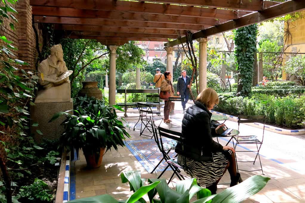 Los Jardines del museo Sorolla - Los 5 parques más románticos de Madrid