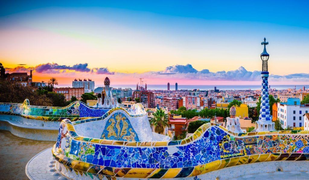 PARQUE GUELL - Los 5 mejores parques de Barcelona