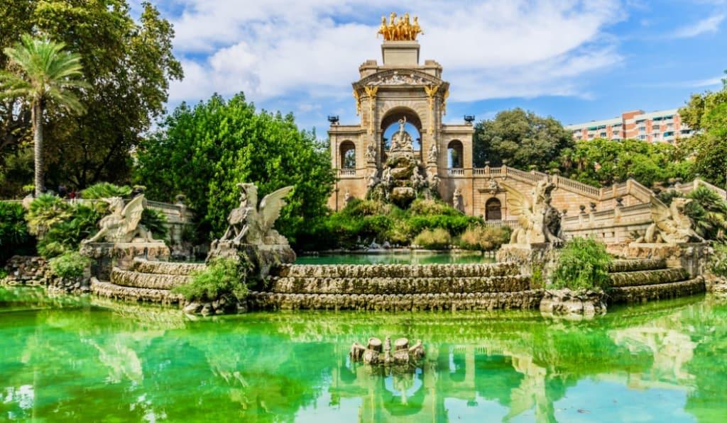 LA CIUDADELA - Los 5 mejores parques de Barcelona