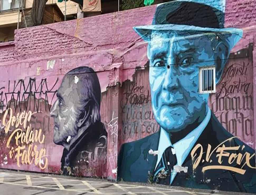 Poesía grafiteada en arte urbano - Travelodge Hoteles España