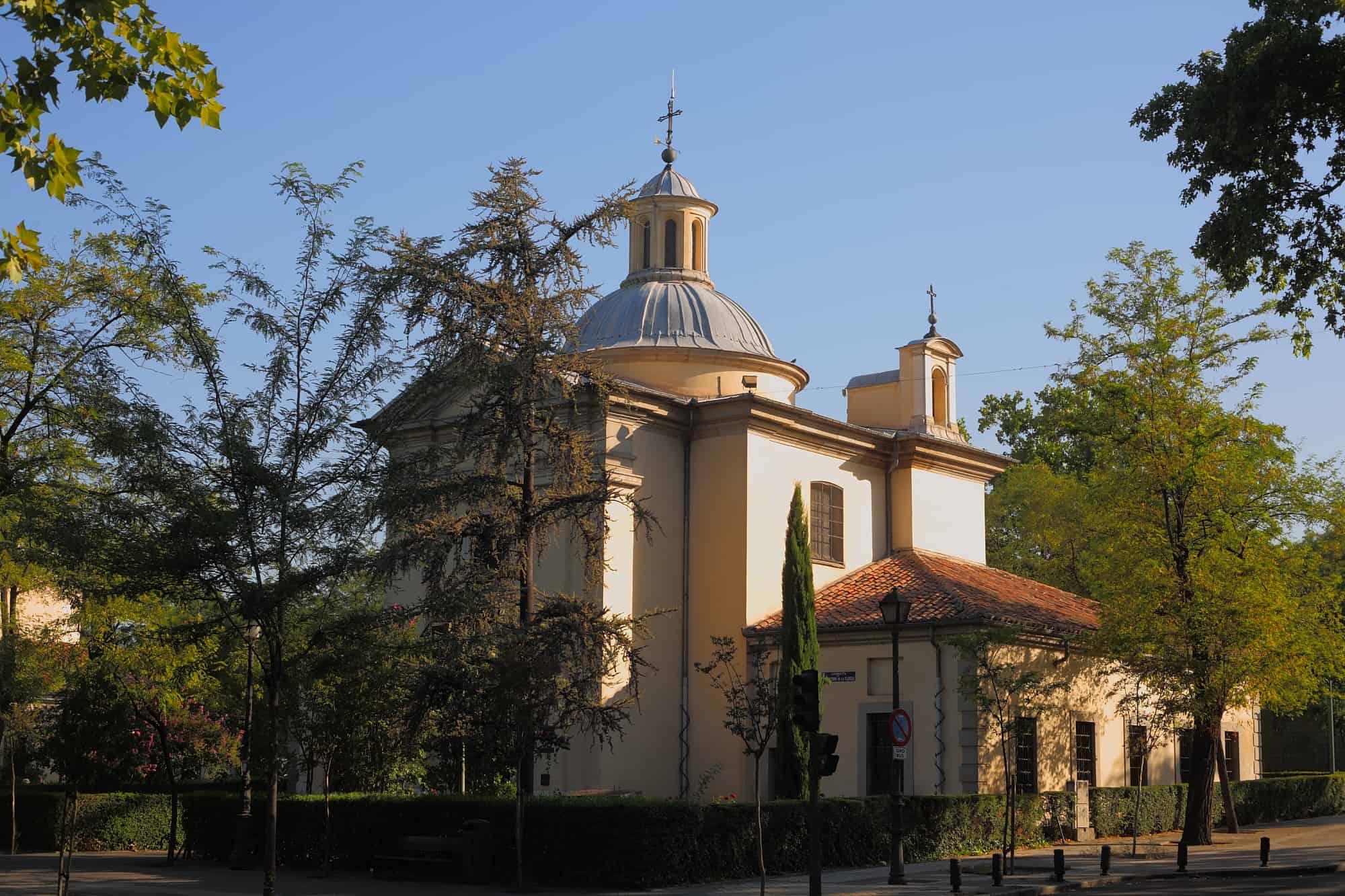 Ermita de San Antonio de la Florida-Los cinco lugares escondidos que visitar en Madrid.