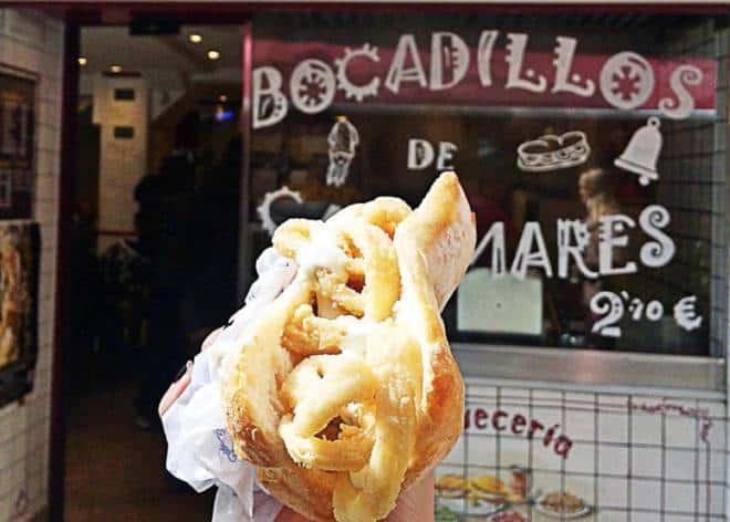 La Ideal :Donde disfrutar de los mejores bocadillos de calamares de Madrid esta Semana Santa 2021.