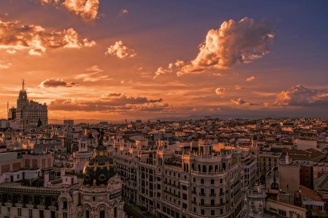 Azotea del Círculo de Bellas Artes - Los 5 atardeceres más bonitos de la ciudad de Madrid.