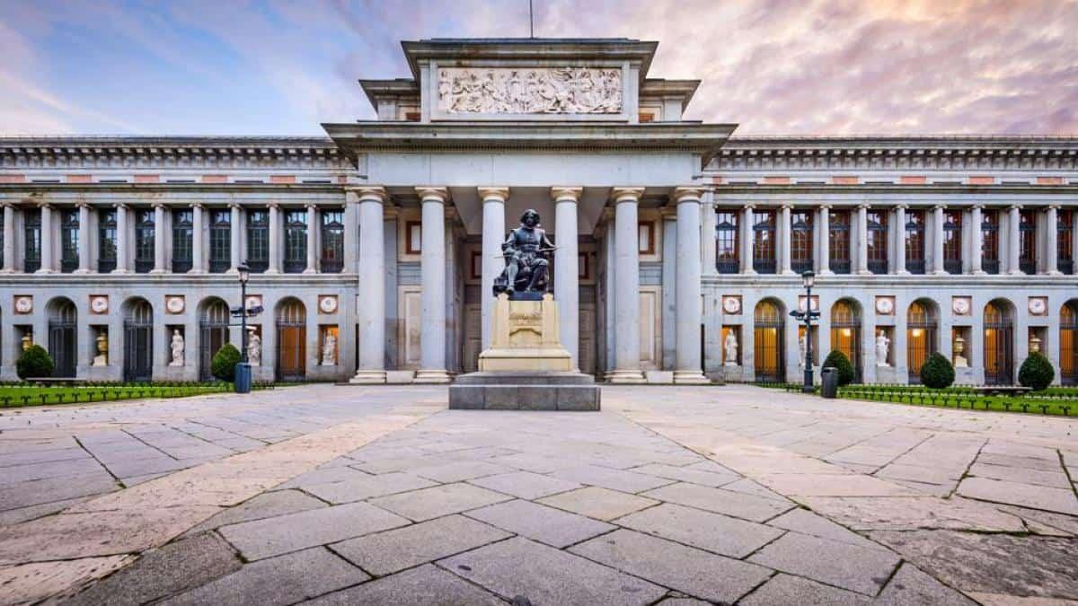 Museo del Prado - Los 5 mejores museos para visitar en Madrid.