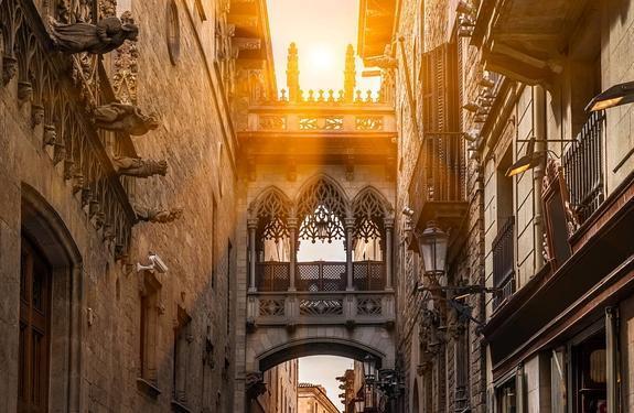 Paseo por el Barrio Gótico y las Ramblas